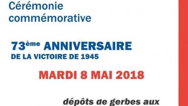 Saint-Marc-Jaumegarde, image de 'Commémoration du 8 mai 2018 à Saint Marc …'